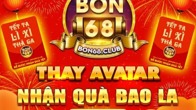 Photo of Bon68 Club [Event] Thay Avatar nhận Giftcode