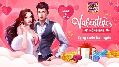 SocVip Club [Event] Nhận Giftcode Valentine