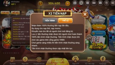 Photo of VN69 [Event] X2 tiền nạp